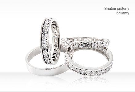 Snubní prsteny dle naší kolekce